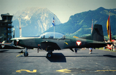 Pilatus PC-7 Turbo Trainer - © Erhard Gaube - www.gaube.at