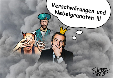 Cartoons - Karikaturen - Bildcollagen © Snorre - Erhard Gaube - www.gaube.at