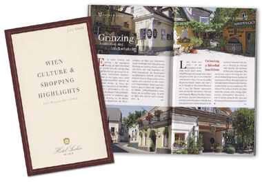 Hotel Sacher Wien - City Guide 2011/2012