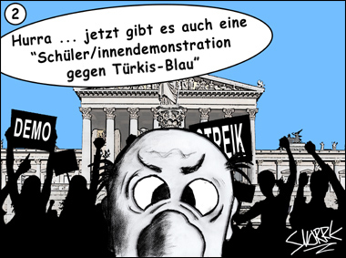Cartoon des Tages by Snorre © Erhard Gaube - www.gaube.at