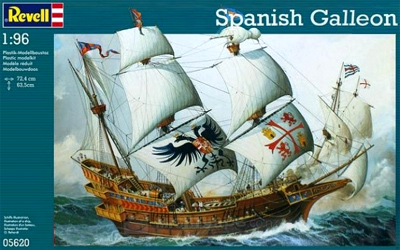 Spanish Galleon © Revell AG